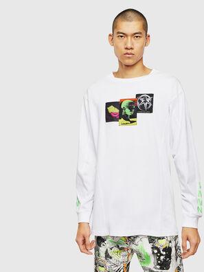 T-GLYNIS-J1, Blanco - Camisetas
