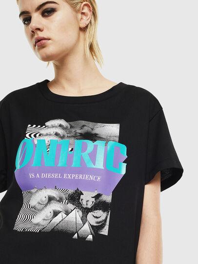 Diesel - T-SHALIE, Negro - Camisetas - Image 4