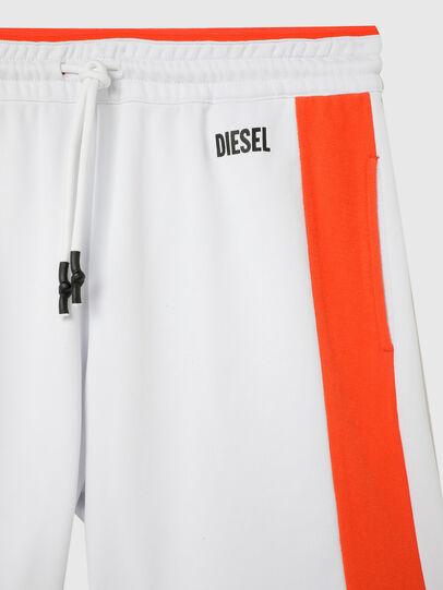 Diesel - UMLB-PAN-SP, Blanco/Naranja - Pantalones - Image 3