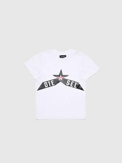 Diesel - TDIEGOA7B-R, Blanco - Camisetas y Tops - Image 1