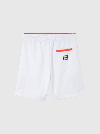 Diesel - UMLB-PAN-SP, Blanco/Naranja - Pantalones - Image 2