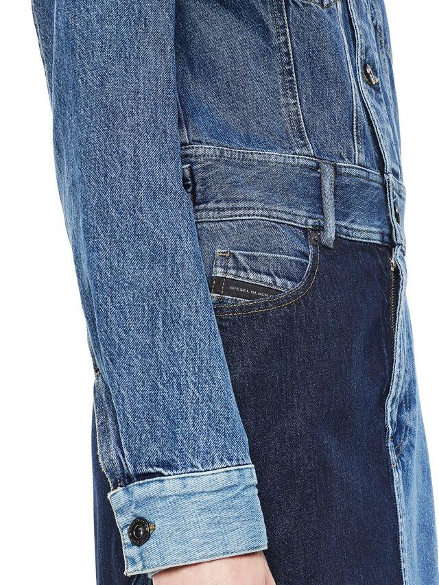 Diesel - DINAP, Blue Jeans - Vestidos - Image 6