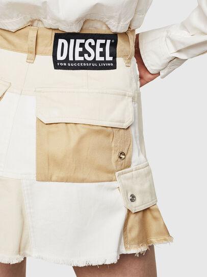 Diesel - O-AMATA-A, Crema - Faldas - Image 5