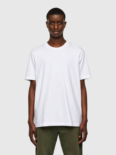 Diesel - T-JUSPOCK, Blanco - Camisetas - Image 1