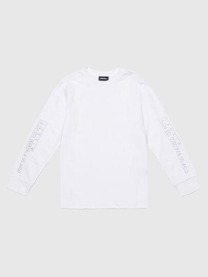 Diesel - TVARYS, Blanco - Camisetas y Tops - Image 1