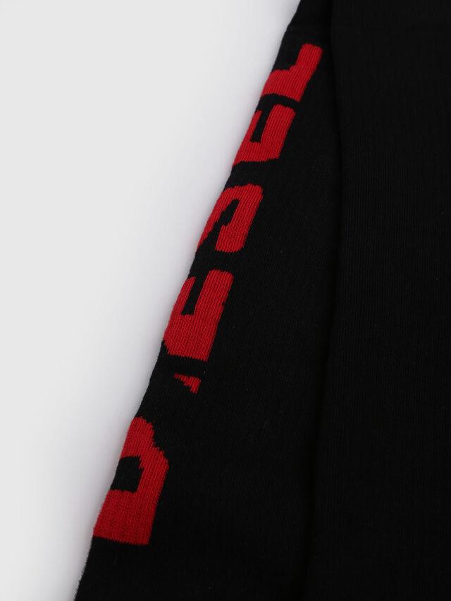 Diesel - SKM-LONG, Negro/ Rojo - Calcetines - Image 2