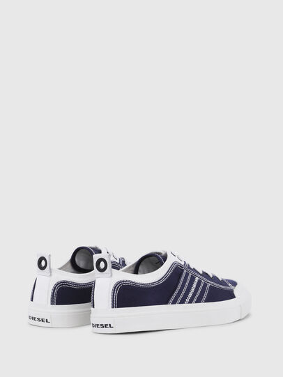 Diesel - S-ASTICO LOW LACE, Azul/Blanco - Sneakers - Image 3