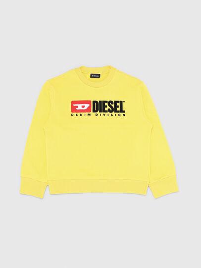 Diesel - SCREWDIVISION OVER, Amarillo - Sudaderas - Image 1