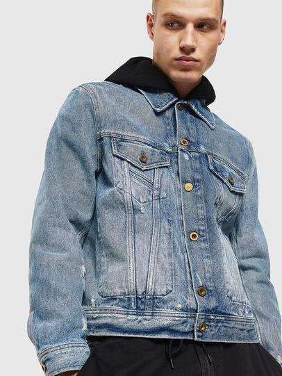 Diesel - D-BRAY, Blue Jeans - Chaquetas de denim - Image 1