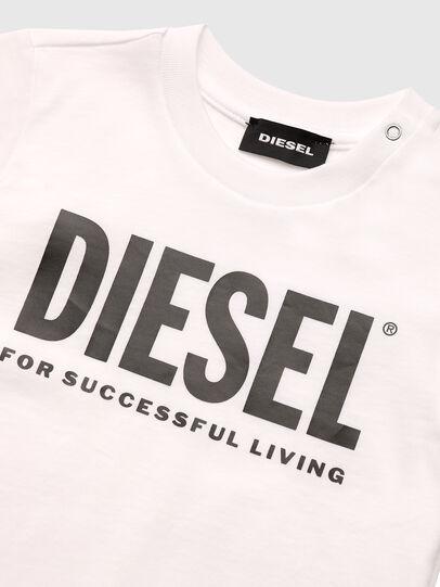 Diesel - TJUSTLOGOB, Blanco - Camisetas y Tops - Image 3