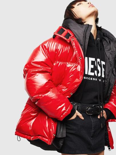 Diesel - CL-W-ALLA-LITM, Rojo - Chaquetones de invierno - Image 5