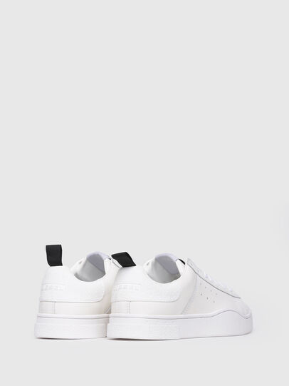 Diesel - S-CLEVER LOW W, Blanco Brillante - Sneakers - Image 3