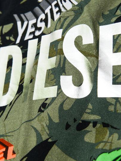 Diesel - TIRONDAB, Verde Militar - Camisetas y Tops - Image 3
