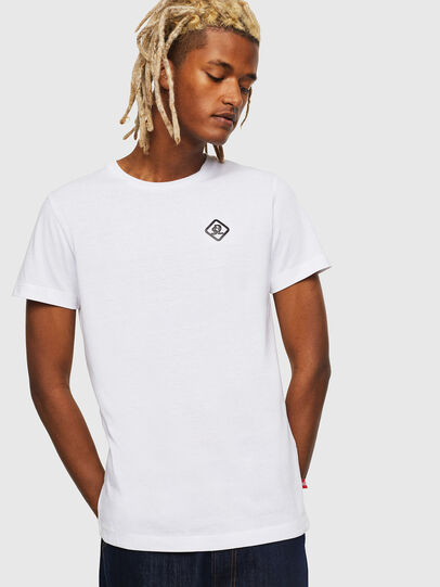 Diesel - CC-T-DIEGO-COLA, Blanco - Camisetas - Image 1