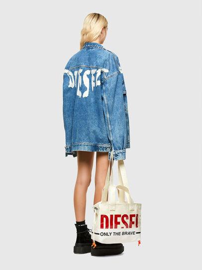 Diesel - ASTI, Blanco - Bolsos Shopper y Al Hombro - Image 6