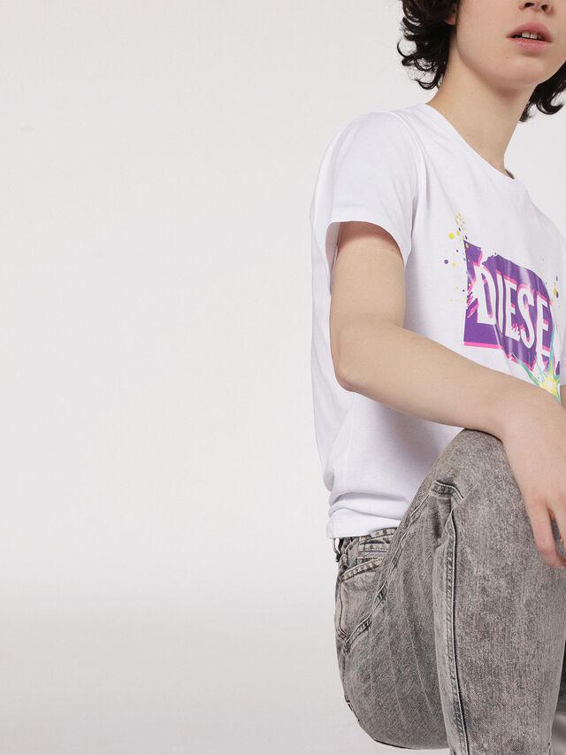 Diesel - T-EXPLO, Blanco - Camisetas - Image 3