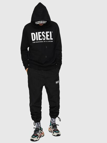Diesel - S-GIR-HOOD-DIVISION-, Negro - Sudaderas - Image 4