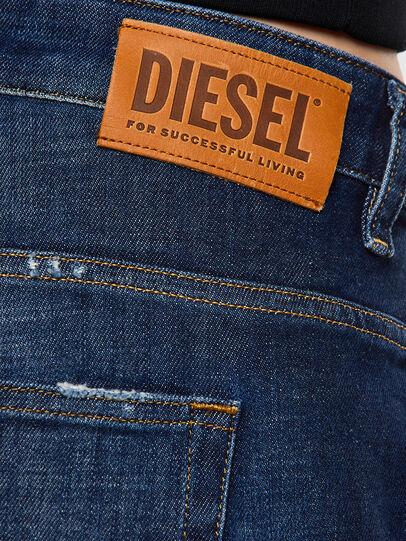 Diesel - Fayza 0F9ET, Azul Oscuro - Vaqueros - Image 4
