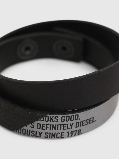 Diesel - A-CCA, Negro - Joyas y Accesorios - Image 2