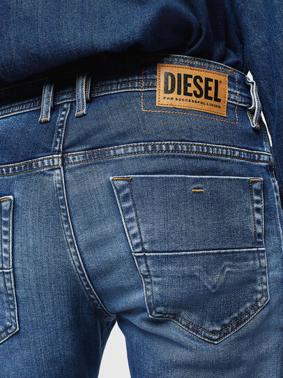 Diesel - Thommer 0097W, Azul Oscuro - Vaqueros - Image 4