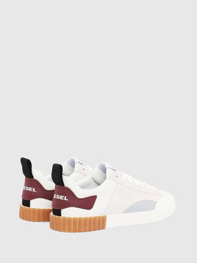 Diesel - S-BULLY LC, Blanco/Rojo - Sneakers - Image 2