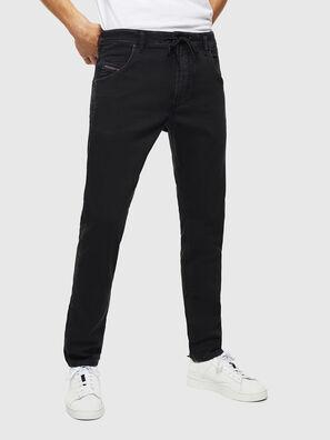 Krooley JoggJeans 0687Z, Negro/Gris oscuro - Vaqueros