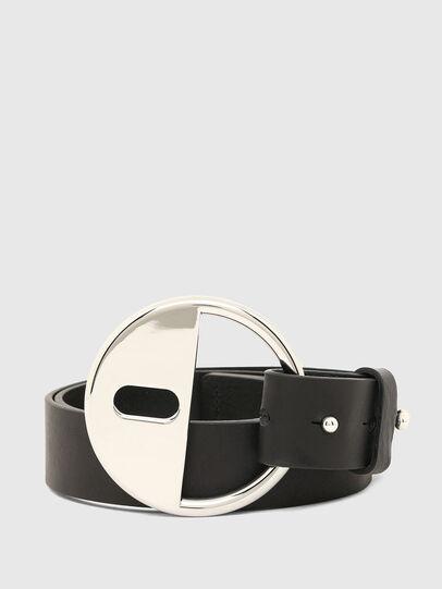 Diesel - B-DLOCK, Negro - Cinturones - Image 1