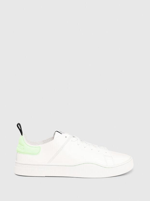 S-CLEVER LS W, Blanco/Verde - Sneakers