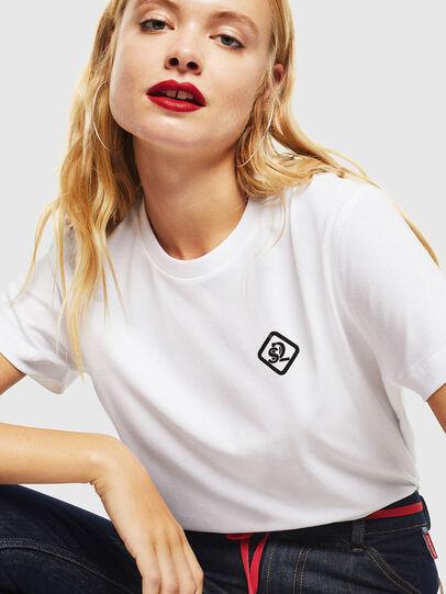 Diesel - CC-T-DIEGO-COLA, Blanco - Camisetas - Image 5
