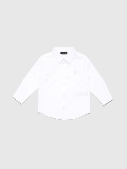 Diesel - CSBILLB, Blanco - Camisas - Image 1