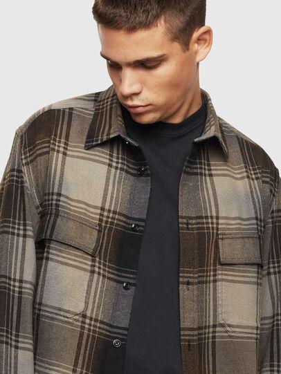 Diesel - S-MILLERIN, Negro - Camisas - Image 4