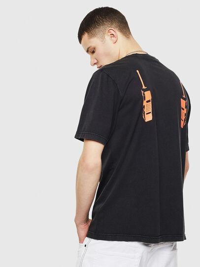 Diesel - T-JUST-T12, Negro - Camisetas - Image 2
