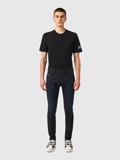 Diesel - D-Strukt JoggJeans® 069XN, Negro/Gris oscuro - Vaqueros - Image 5