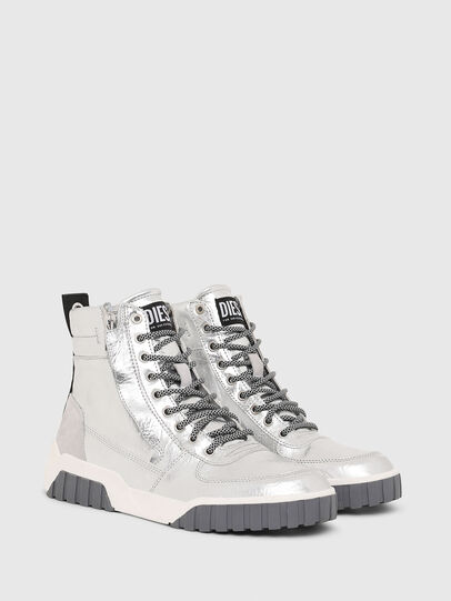 Diesel - S-RUA MID W, Plata - Sneakers - Image 2