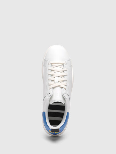 Diesel - S-CLEVER LOW LACE, Blanco/Azul marino - Sneakers - Image 5