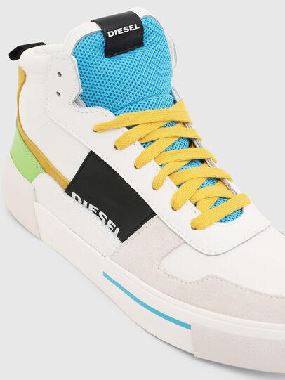 Diesel - S-DESE MG MID, Blanco - Sneakers - Image 4