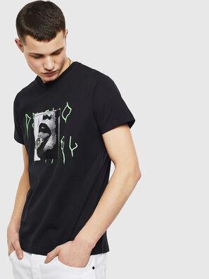 T-DIEGO-S12, Negro - Camisetas