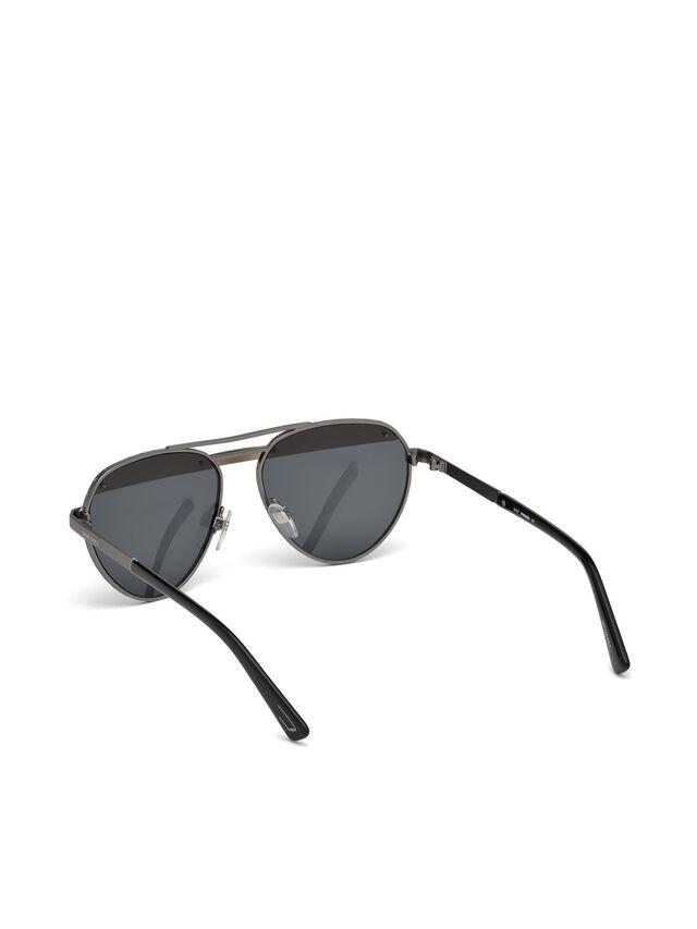 Diesel - DL0261, Negro/Gris - Gafas de sol - Image 4