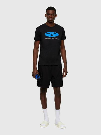 Diesel - P-PRONE, Negro - Shorts - Image 4