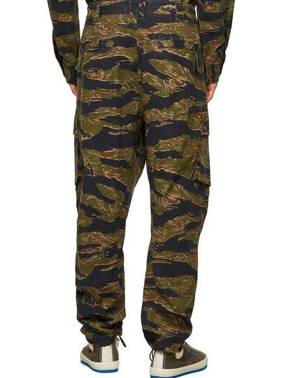 Diesel - P-BARTON, Verde Militar - Pantalones - Image 2