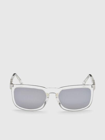 Diesel - DL0262, Blanco - Gafas de sol - Image 1