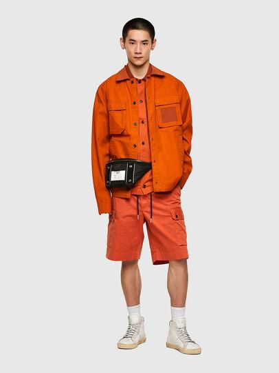 Diesel - S-GUNN-LS, Naranja - Camisas - Image 5