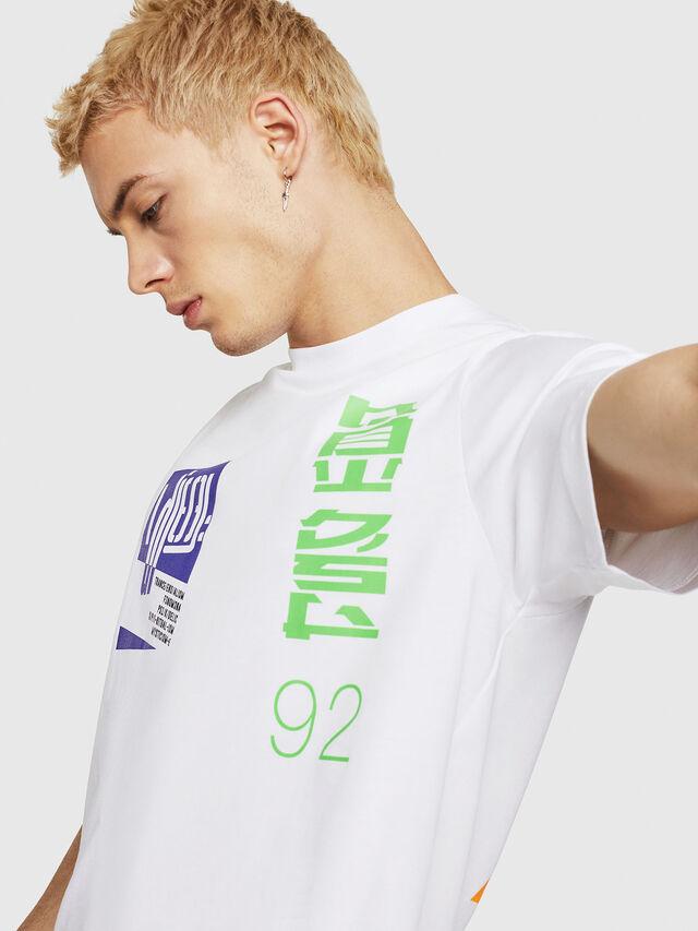 Diesel - T-JUST-Y20, Blanco - Camisetas - Image 3