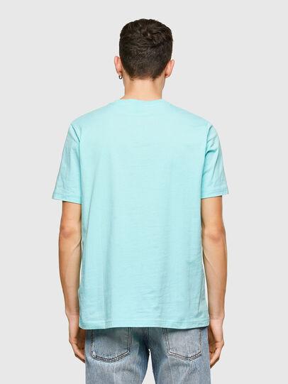 Diesel - T-JUST-E9, Azul Claro - Camisetas - Image 2
