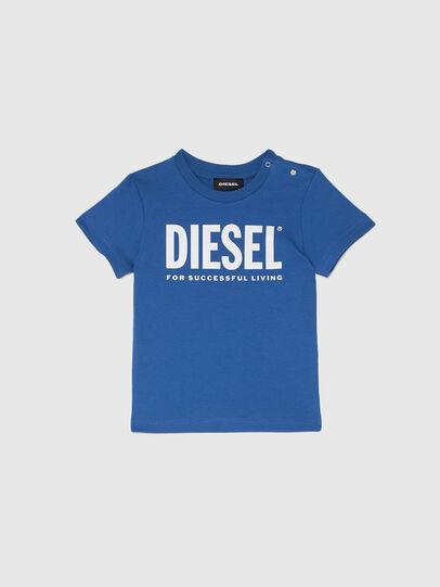 Diesel - TJUSTLOGOB, Azul - Camisetas y Tops - Image 1