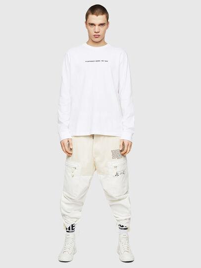 Diesel - T-JUST-LS-COPY, Blanco - Camisetas - Image 5