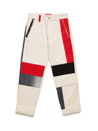 Diesel - GR02-P301-P, Blanco - Pantalones - Image 1