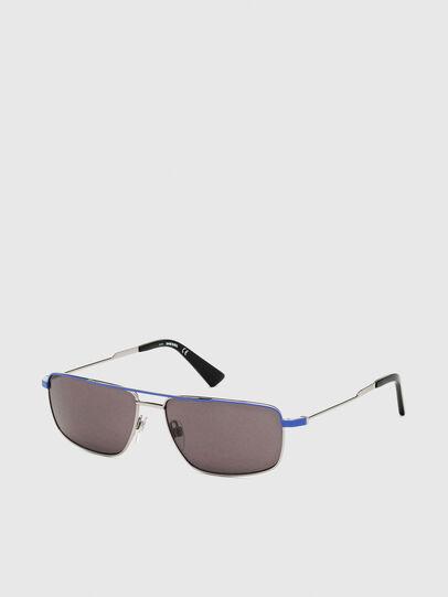 Diesel - DL0308, Azul/Gris - Gafas de sol - Image 2