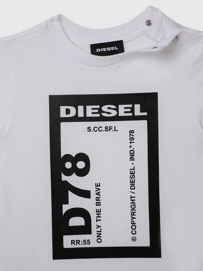 Diesel - TFULL78B, Blanco - Camisetas y Tops - Image 3