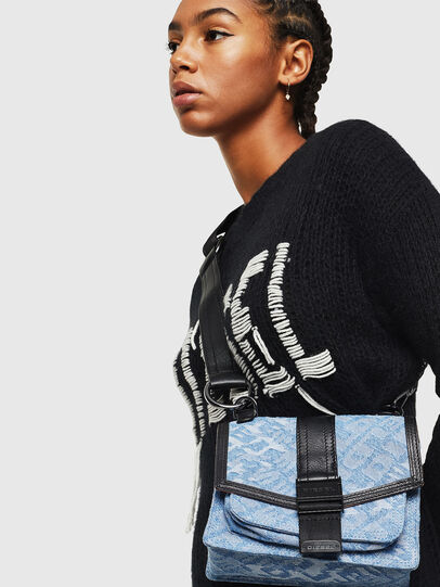Diesel - MISS-MATCH CROSSBODY, Blue Jeans - Bolso cruzados - Image 6